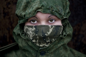 Female snipers in Donbas